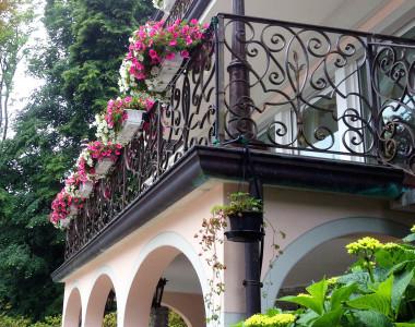 Allestimento terrazzi e balconi